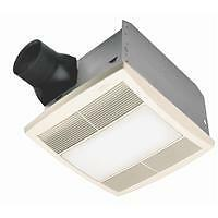 broan bathroom light fan combo broan nutone qt series bathroom bath exhaust fan light 22813