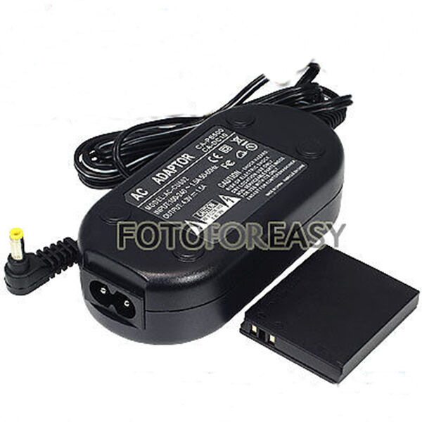 Ack Dc40 Ac Adapter Charger Ca Ps500 For Canon Powershot