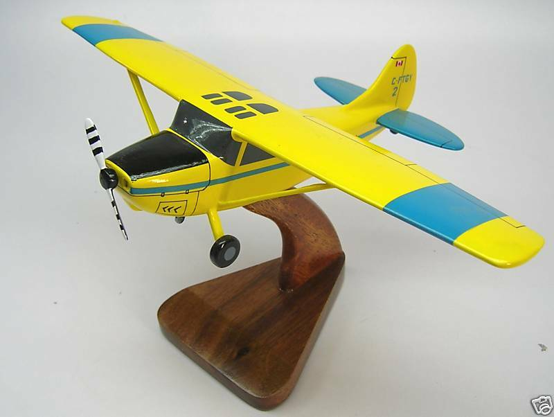 Cessna bird dog l 19 airplane replica wood model small ebay for Small dogs on airplanes