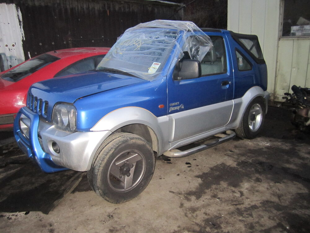 suzuki jimny 2003 convertible wheelbolt ebay. Black Bedroom Furniture Sets. Home Design Ideas