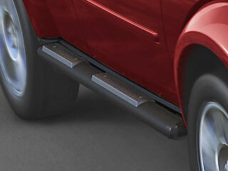 09 12 Dodge Ram Black Side Steps Running Tubular Running