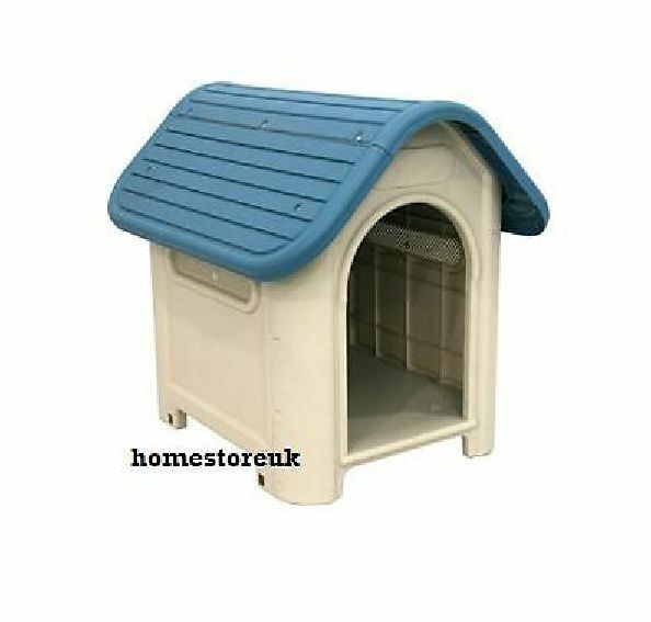 deluxe pet dog doggy puppy plastic kennel house doghouse With plastic outdoor dog house