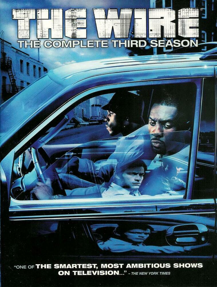 The Wire - The Complete Third 3rd Season - 5-Disc DVD Set | eBay