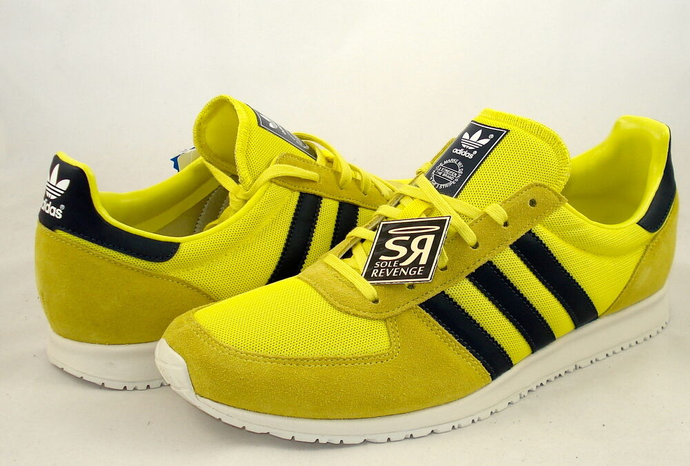 Navy Blue Adidas Racer Shoes
