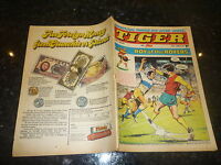 TIGER & JAG Comic - Date 20/06/1970 - Inc Roy of thr Rovers (Melchester)