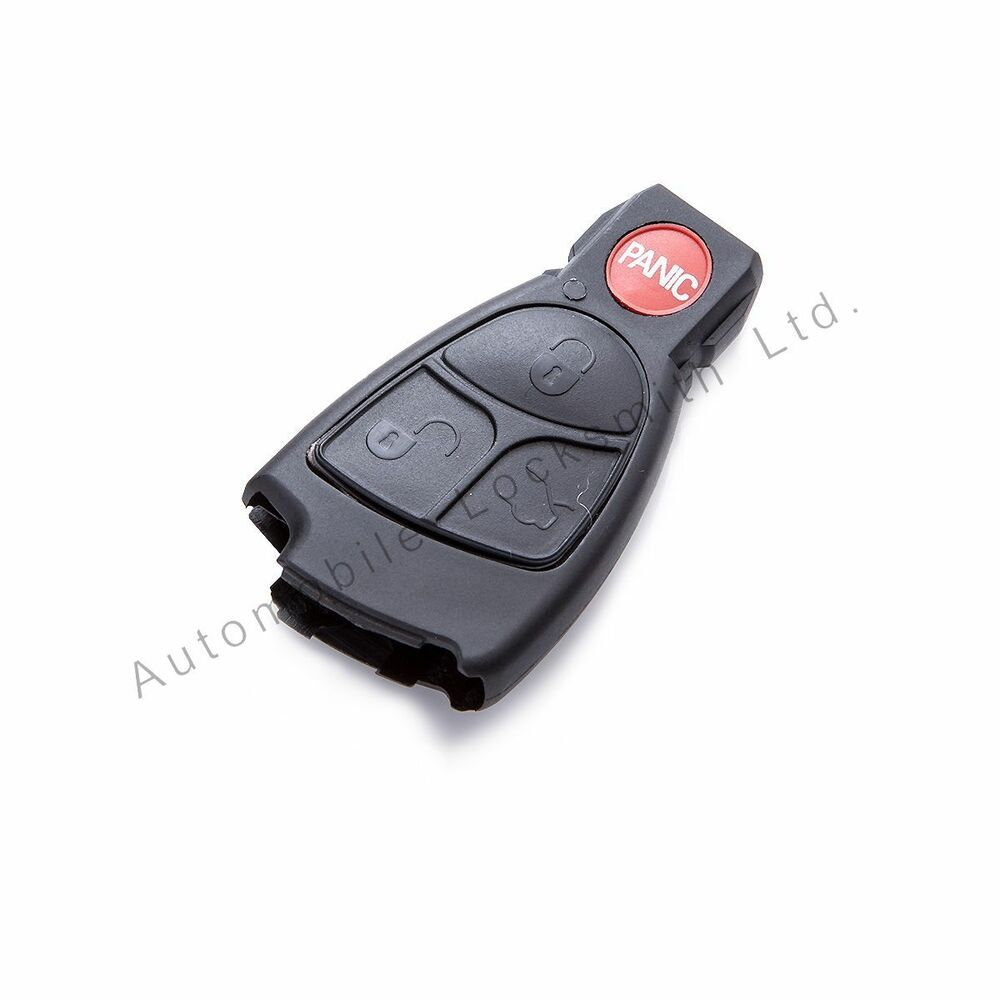 Smart key case shell for mercedes benz 4 button remote key for Mercedes benz remote key