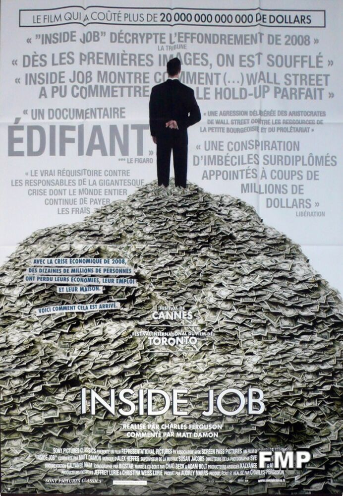 The inside job financial crisis original large french for Inside french movie