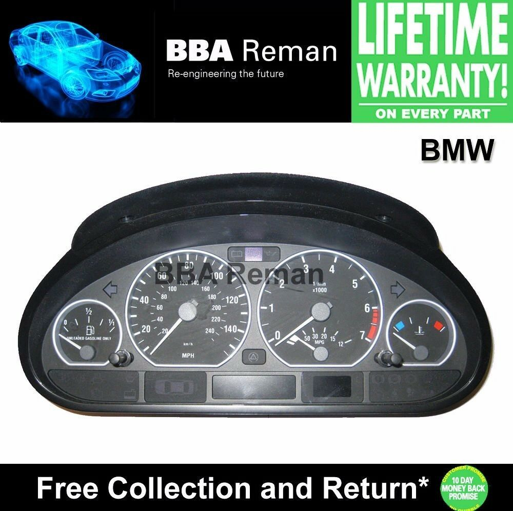 BMW Instrument Cluster Repair Service Display Gauges