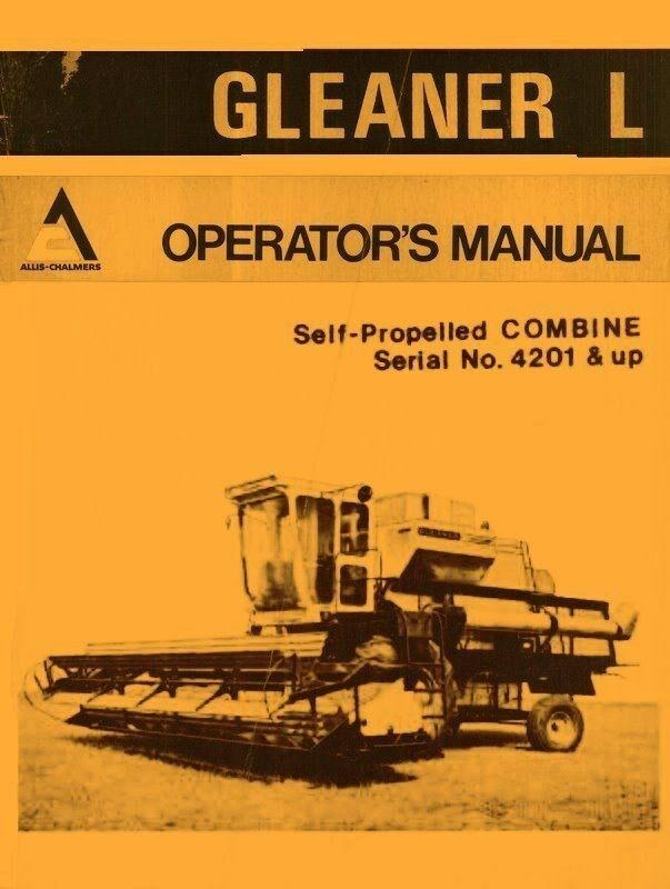 ALLIS-CHALMERS OPERATOR'S MANUAL FOR PLANTING UNITS- 70 Series