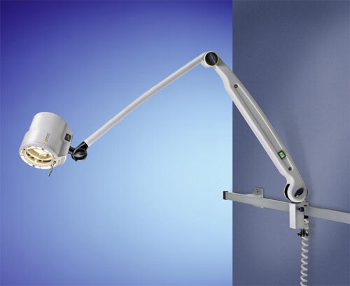 Wall Mounted Articulated Lamp : Waldmann Halux 50 Articulated Arm Wall Mount Exam Light eBay