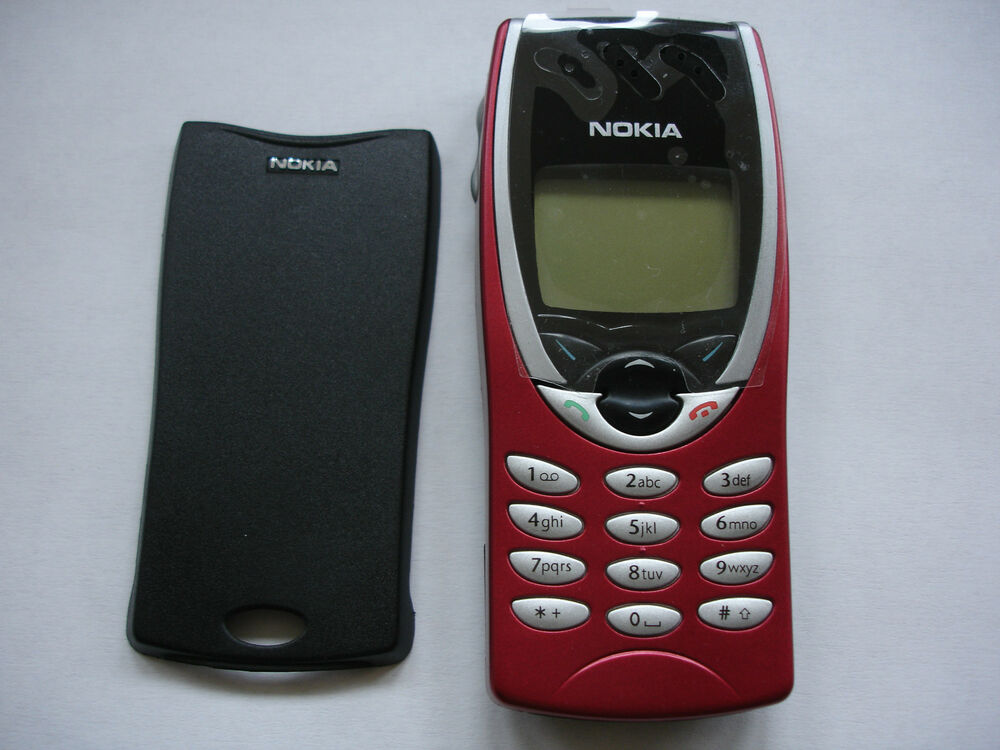 nokia 8210 mobile phone new red fascia fully tested no sim lock latest version 6417182117718. Black Bedroom Furniture Sets. Home Design Ideas