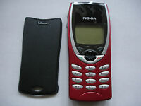 NOKIA 8210 MOBILE PHONE, NEW RED FASCIA, FULLY TESTED NO SIM LOCK LATEST VERSION