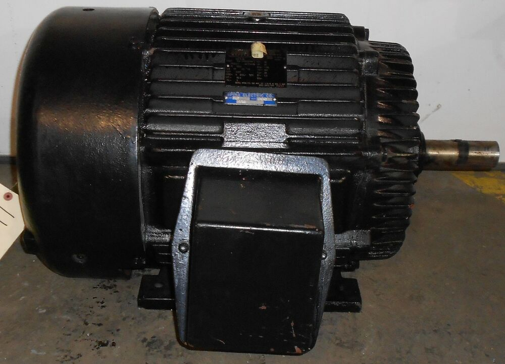 Sls1b12 reman lincoln motors 20 hp electric motor 1180 for 20 hp dc motor