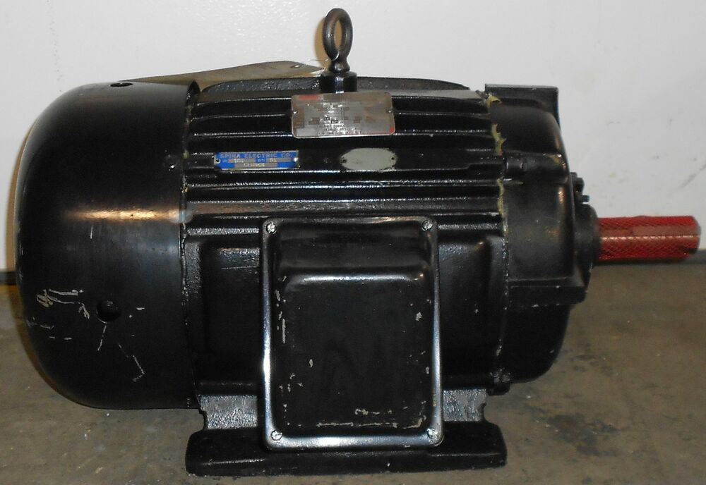 Sls1b12 reman lincoln motors 20 hp electric motor 3520 for 20 hp dc motor