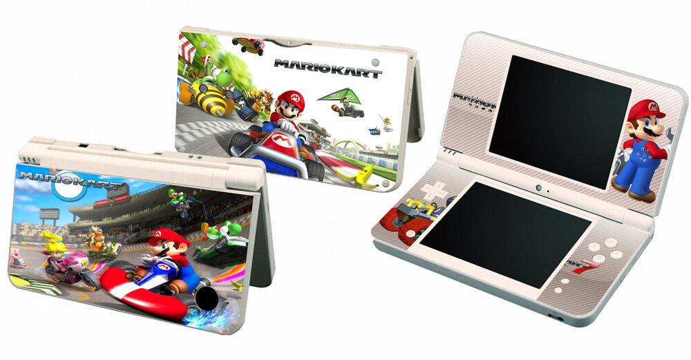 Mario Kart 112 Vinyl Decal Skin Sticker For Nintendo Dsi