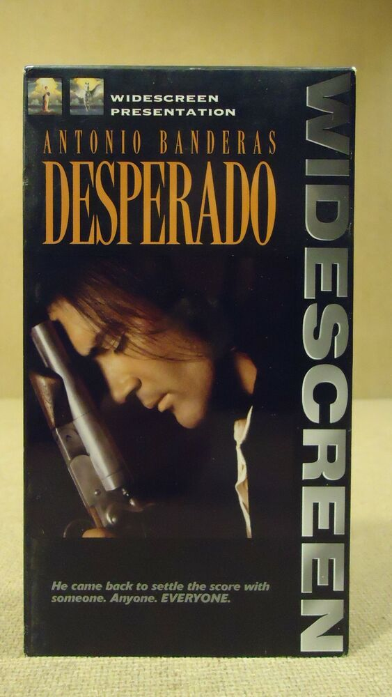 The Vcr From Heck Fifty Cartoons Week Tuesday 50: Columbia Desperado VHS Movie * Plastic * 43396838031