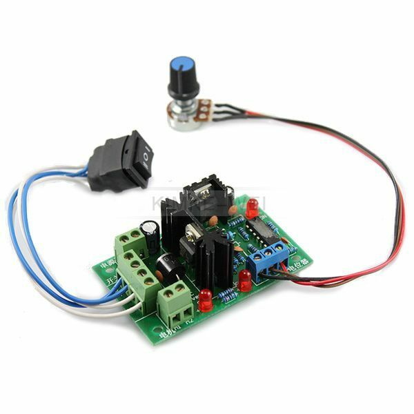 Reversible 12 24v 5a Motor Speed Control Pwm Controller Ebay