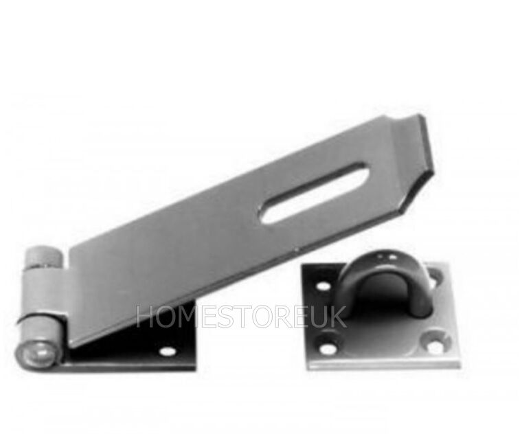 Security Hut Symbol: HEAVY DUTY HASP AND STAPLE SECURITY LOCK DOOR GARDEN HUT