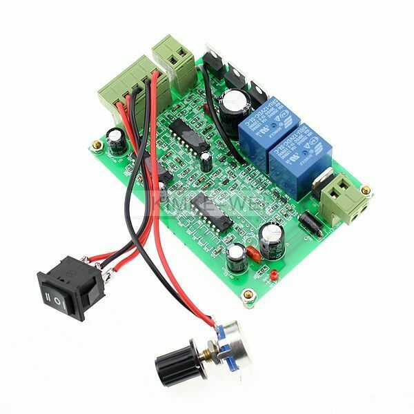Reversible 200w Dc Motor Speed Control Pwm Controller Ebay