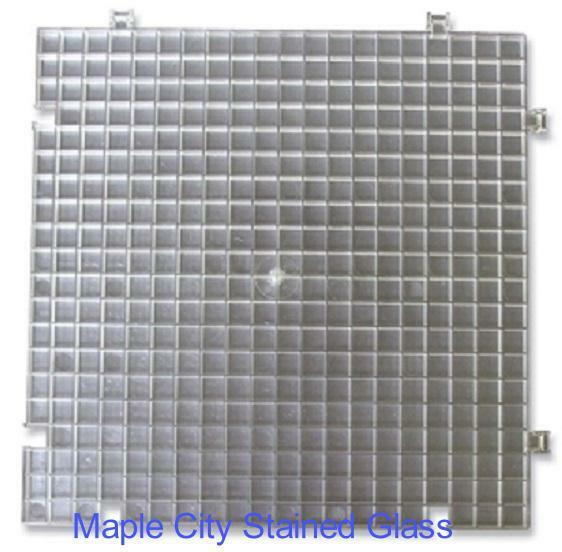 2 Pack Waffle Grid For Cutting Stained Glass Grinding Ebay
