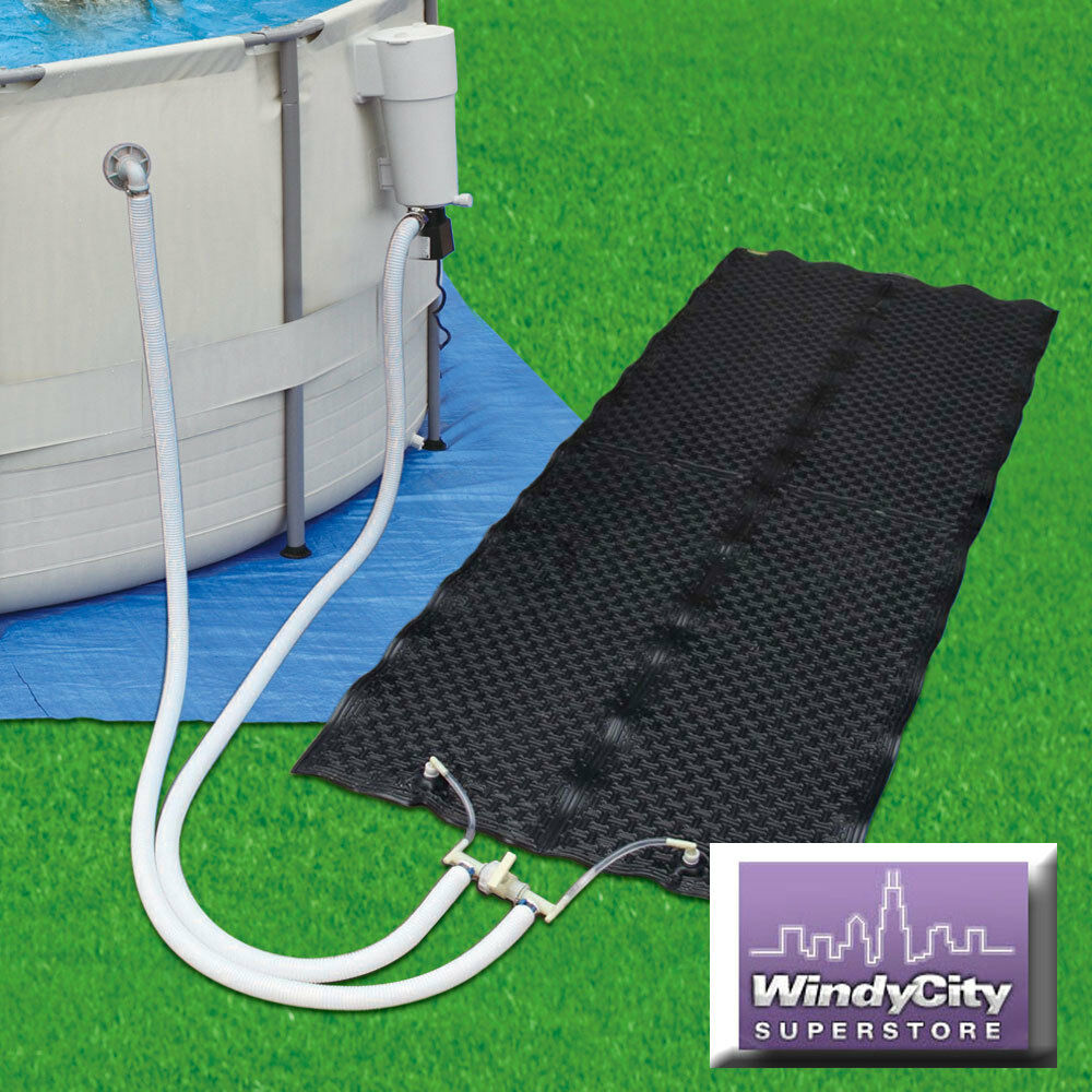 Summer Escapes Pro Series Solar Heater Mat System Above