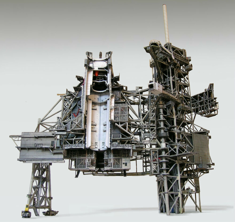 Space Shuttle Launch Pad Complex 39A 1:72 Model Kit for ...
