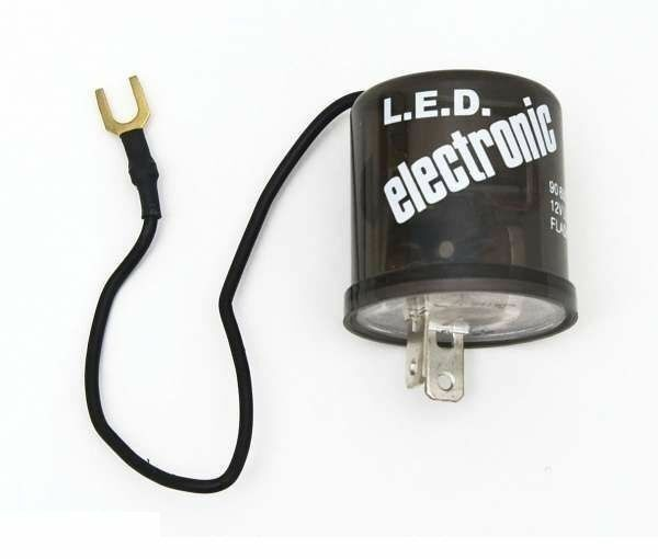 2 Pin Prong Terminal Relay Electronic Flasher 12 Volt Led