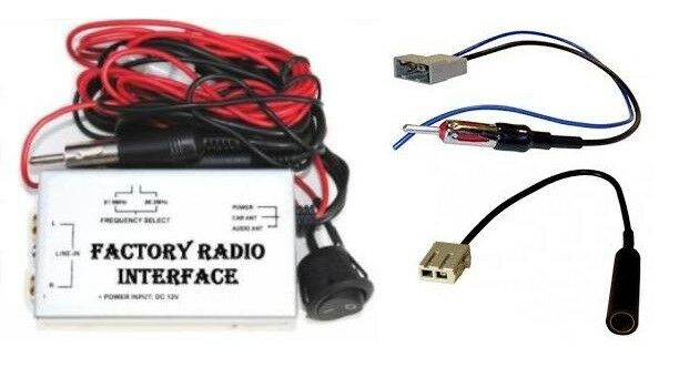 Factory Stereo Radio Rca Aux Input Adapter Audio Auxiliary Source Ipod Iphone Ebay