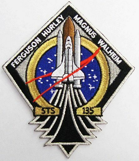 NASA Official STS-135 Mission PatchThe Last Space Shuttle ...