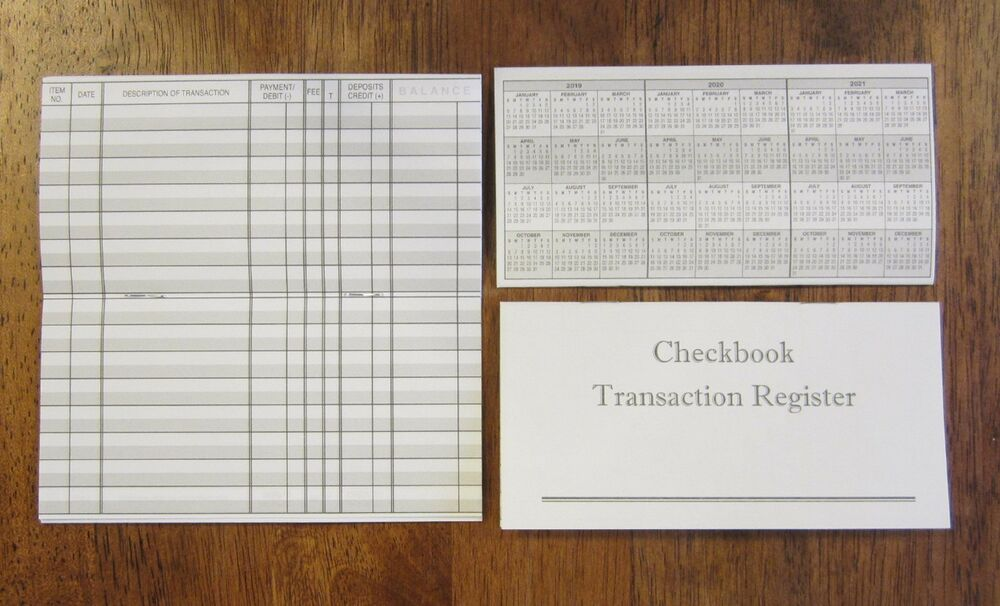 business check registers
