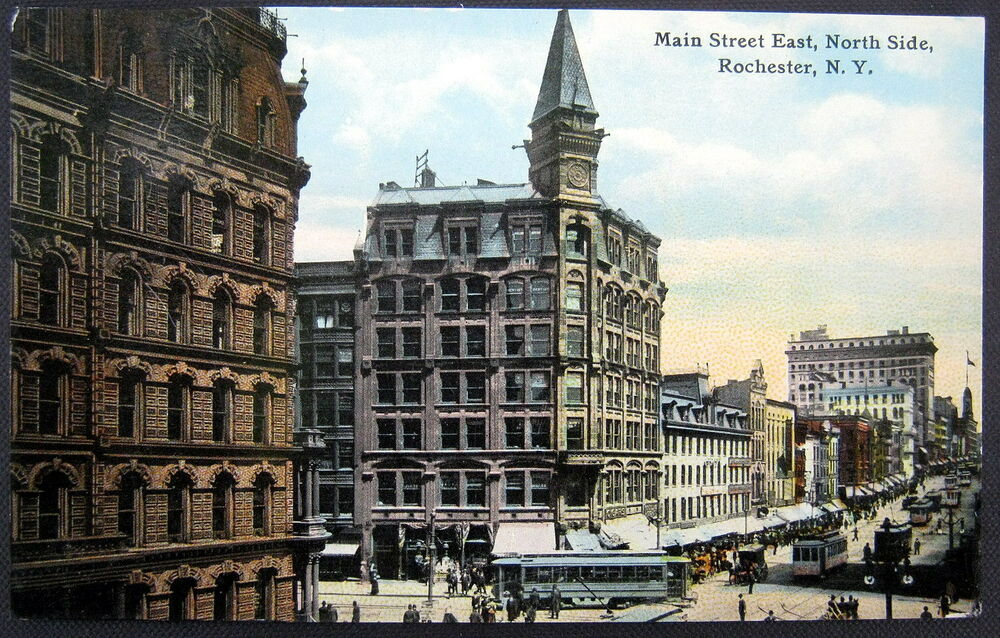 Rochester New York 1900 S Main Street East North Side
