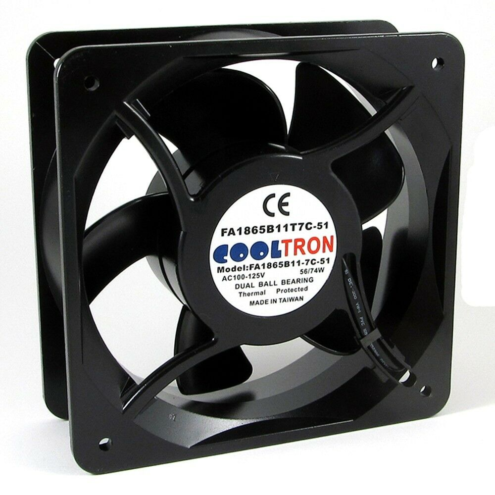 110v 115v 120v Ac Cooling Fan 180mm X 65mm Hs