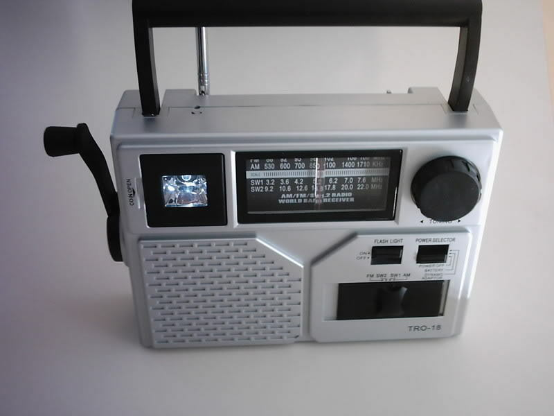 Wind Up Dynamo Am Fm Shortwave Crank Radio Torch Ebay