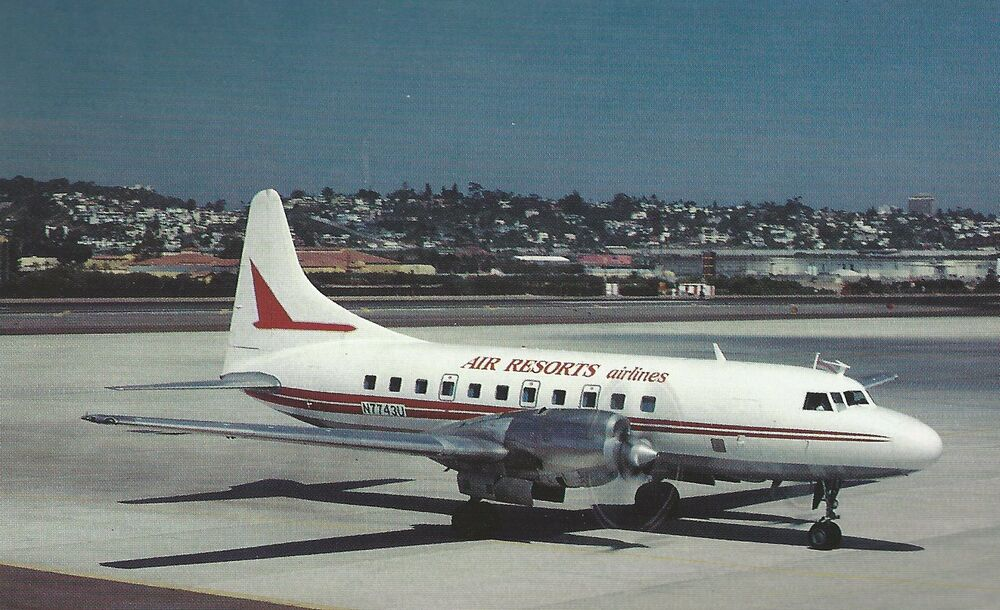 air resorts airline convair cv