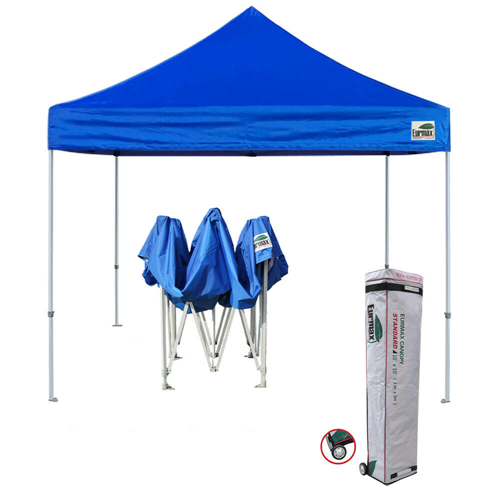 Ez Up Canopy 10x10 : New ez pop up canopy eurmax waterproof tent party