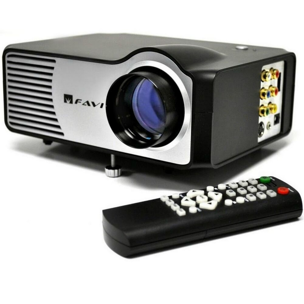 Favi rio hd led lcd projector model riohd led 2 for Best pocket projector for presentations