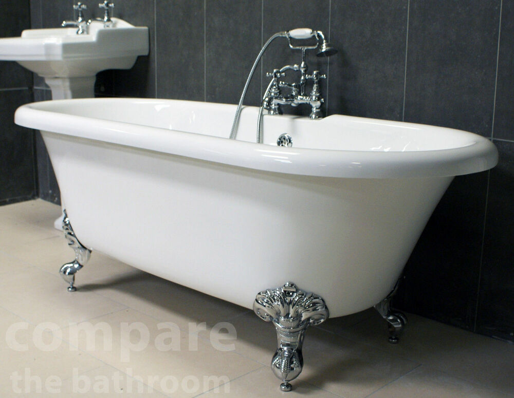 Traditional freestanding bath ball claw feet roll top for What is the best bathtub