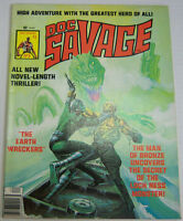 The Man Of Bronze Doc Savage Magazine Comic The Earth Wreckers July 1976 091712R