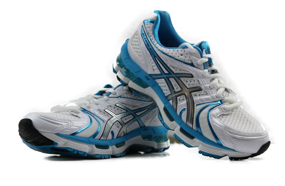 new asics womens kayano 18 running shoes   d width wide
