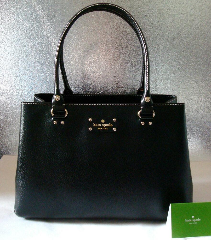 Nwt Authentic Kate Spade Wellesley Elena Leather