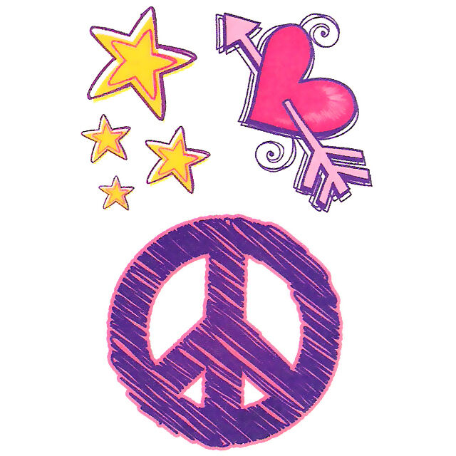 Peace Pictures to Color | Peace Love and COLOR | Purple ...  |Peace And Love Purple