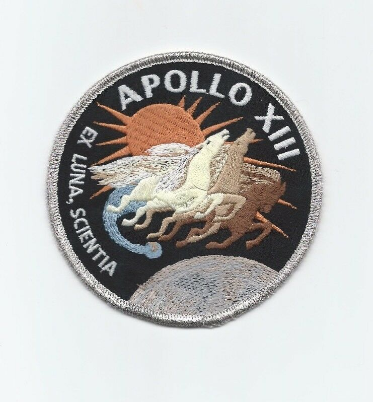 Apollo 13 Mission Emblem Patch Official NASA Edition ...