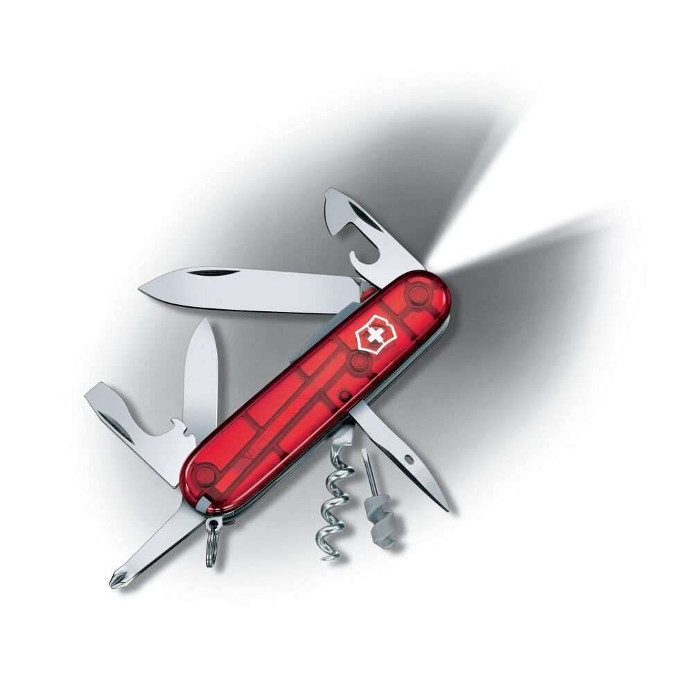 Victorinox Swiss Army Knife Spartan Lite Ruby Translucent