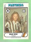 1976 SCANLENS RUGBY LEAGUE CARD #67. BRIAN REEVE, PENRITH PANTHERS