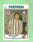 1976 SCANLENS RUGBY LEAGUE CARD #49. GARY ALLSOPP, PENRITH PANTHERS