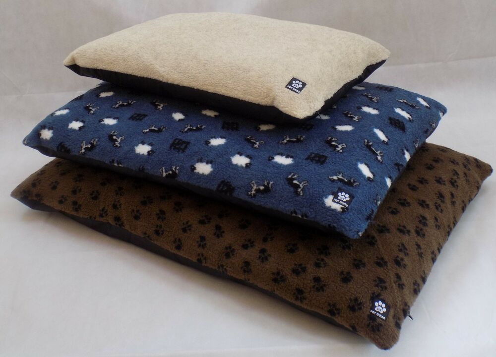 Dog Fleece Mattress Pet Bed COVER ONLY ** MADE IN UK ** | eBay