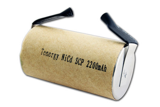 Tenergy Nicd Subc Sub C 2200mah Paper Wrapped Rechargeable