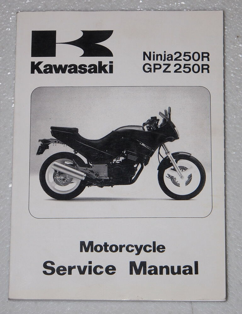 Ex250f owners Manual