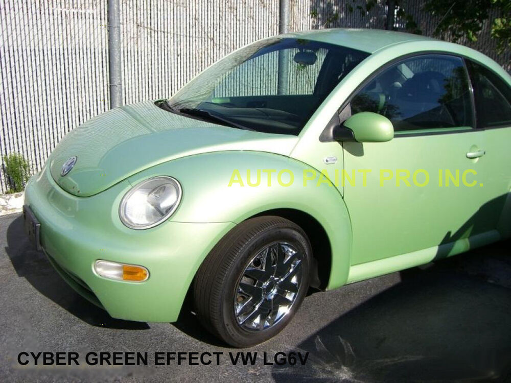 Cyber Green Effect Vw Lg6v Acrylic Enamel Single Stage