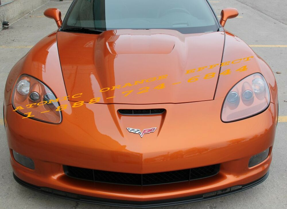 Automic Orange Effect 418p Auto Paint Acrylic Enamel